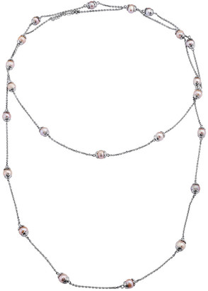 Genevive Silver 8.5Mm Pearl Necklace