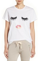 Sincerely Jules Women's 'Lips & Lashes' Graphic Tee