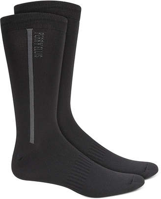 Perry Ellis Men Logo Performance Socks