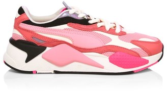 Puma Women's RS-X Puzzle Mesh Sneakers