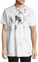 PRPS Waning Moon Distressed T-Shirt, White