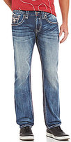 Rock Revival Straight-Leg Five-Pocket Denim Jeans