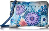 Anuschka Anna By Anna by Hand Painted Leather Women's Medium Crossbody Organizer