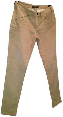 Ralph Lauren Beige Velvet Trousers