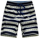 APTRO Men's Summer Casual Swim Trunks Adjustable Drawstring Boardshort Stripes S