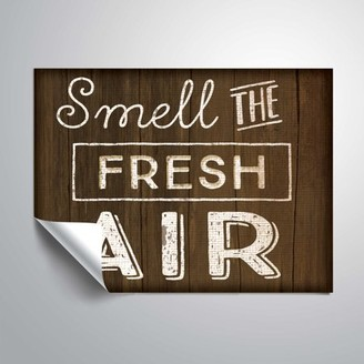 ArtWall Smell The Fresh Air, Removable Wall Art Mural by Jennifer Pugh