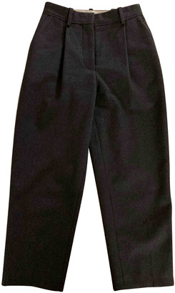 Acne Studios Grey Wool Trousers