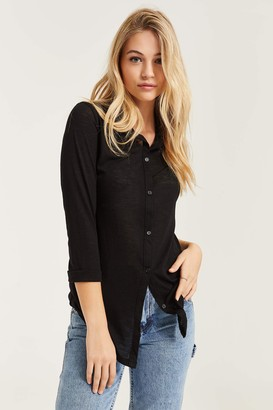 Ardene Buttoned Shirt with Lace Back