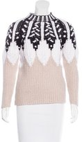 Peter Pilotto Cable Knit Wool Sweater