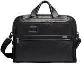 Tumi Alpha Leather Portfolio Briefcase