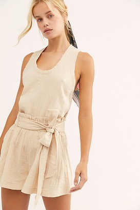 Free People Easy Livin Set by Free People, Softest Oat, L