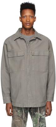 Fear Of God Grey Twill Jacket
