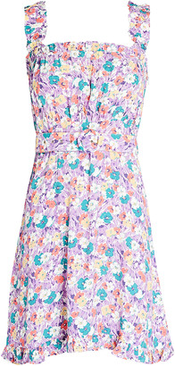 Faithfull The Brand Mid Summer Floral Mini Dress