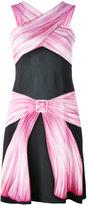 Moschino bow illusion print dress - women - Viscose/Other fibres - 40