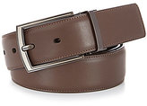 Murano Matte Gunmetal Reversible Leather Belt