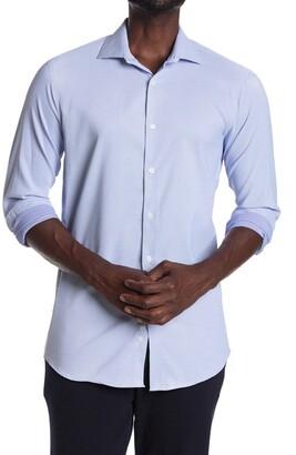 Perry Ellis Long Sleeve Slim Fit Shirt