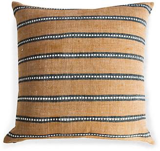 Bole Road Textiles Kombolcha 20x20 Pillow - Tan
