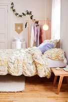 Urban Outfitters Ruby Floral Shirred Duvet Cover
