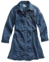 GUESS Long-Sleeve Denim Dress (2-6x)