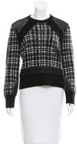Public School Wool Plaid Sweater