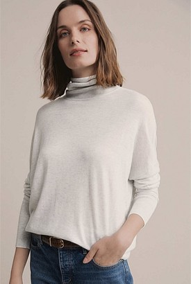 Witchery Roll Neck Drape Knit