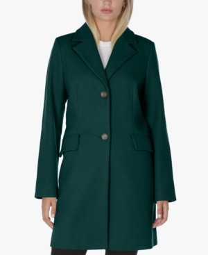 Laundry by Shelli Segal Single-Breasted Walker Coat, Created for Macy's