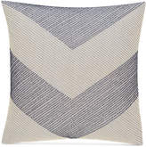 "Hotel Collection Waffle Weave Chambray 18"" Square Decorative Pillow, Created for Macy's"