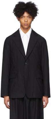 Yohji Yamamoto Black Twill Jacket