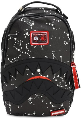 Sprayground Shark Stellation Faux Leather Backpack