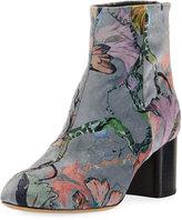 Rag & Bone Drea Floral Velvet Ankle Boot