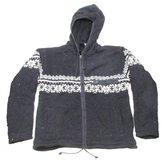 ShangriLa Nook Shangri-La Nook 100% Wool Jacket With Fleece Lining Handmade Nepal