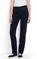 Lands' End Women's Starfish Jeans-Celestial Blue