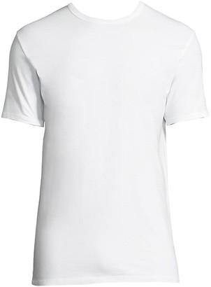 Calvin Klein Underwear 2-Pack Classic-Fit Cotton Stretch Crewneck Tees