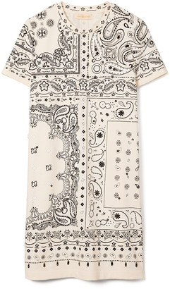 Tory Burch Bandana Print T-Shirt Dress
