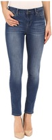 Liverpool Piper Contour 4-Way Stretch Denim Ankle Jeans in Hydra Stone Blue