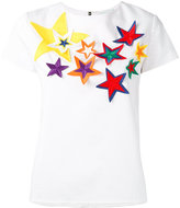 Mira Mikati star patch blouse - women - Cotton/Rayon - 36