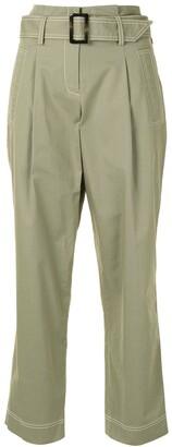 Jonathan Simkhai Belted Trousers