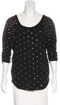 Marc by Marc Jacobs Wool-Blend Embellished Top