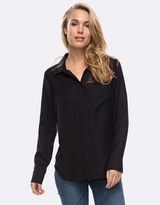 Roxy Womens Always Young Long Sleeve Shirt