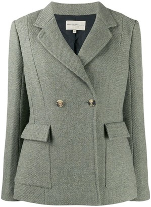 Holland & Holland double-breasted fitted blazer