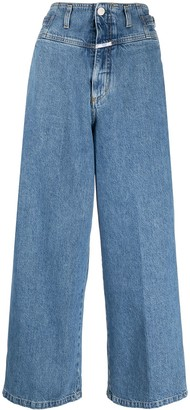 Closed High-Rise Wide-Leg Jeans