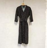 Liebling Malmo - Humla Petrol Flowers Viscose Dress - XS