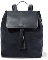Iris and Ink Leather And Suede Backpack