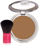 PUR Cosmetics 4-in-1 Pressed Mineral Makeup Foundaiton SPF 15 with Kabuki Brush - Medium Dark