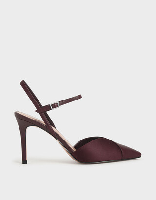Charles & Keith Ankle Strap Pumps