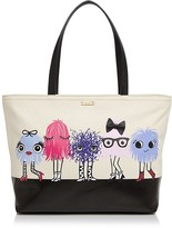 Kate Spade Imagination Monsters Party Francis Tote
