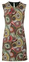 Dorothy Perkins Womens Izabel London Multi Colour Kaleidoscope Print Shift Dress, Multi Colour