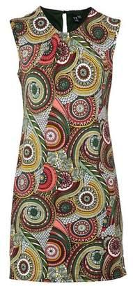 Dorothy Perkins Womens *Izabel London Multi Colour Kaleidoscope Print Shift Dress, Multi Colour