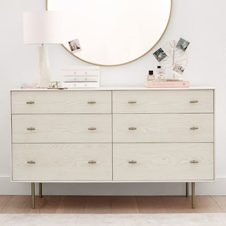 Pottery Barn Teen west elm x pbt Modernist 6-Drawer Wide Dresser