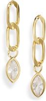 Billie Valentine Marquise Chain Drop Earrings